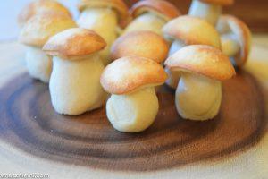Ciasteczka grzybki