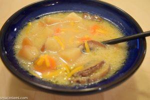 Zupa z pieczonych ziemniaków