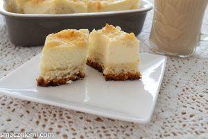 Ciasto drożdżowe z serem i kruszonką