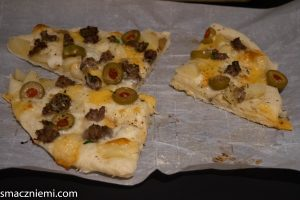 Najlepsza pizza–z ziemniakami i mięsem mielonym