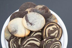 Ciasteczka czekoladowo-waniliowe